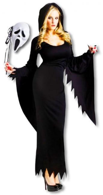 Scream Kostüm lang für Frauen