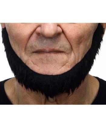 Selbstklebender Seefahrer Bart schwarz