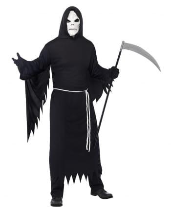 sensenmann kost m grim reaper kapuzenumhang horror. Black Bedroom Furniture Sets. Home Design Ideas