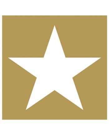 servietten stern gold wei 20 st f r weihnachten. Black Bedroom Furniture Sets. Home Design Ideas