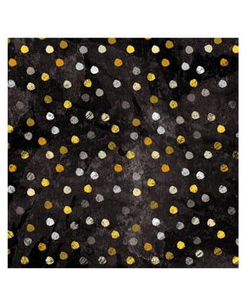 Servietten Swirling Dots 20 St.