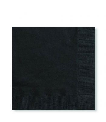 Servietten Schwarz 125 ST.