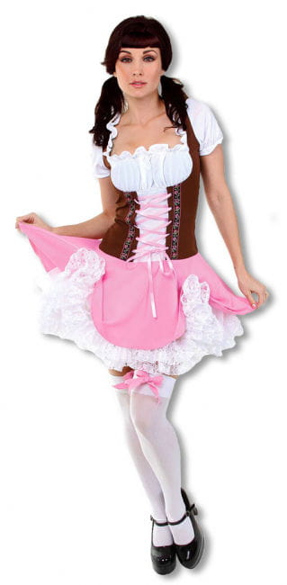 Sexy Heidi Costume Medium