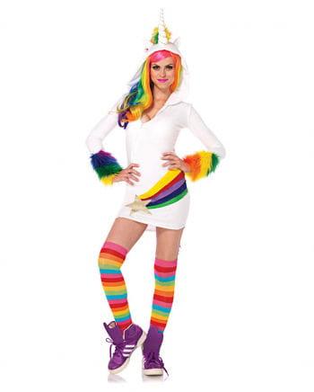 Einhorn Kostümkleid mit Kapuze
