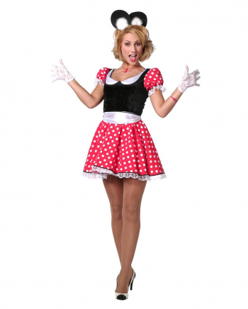 Sexy Minnie Mouse Ladies Costume