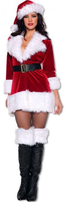 Sexy Santa Woman L