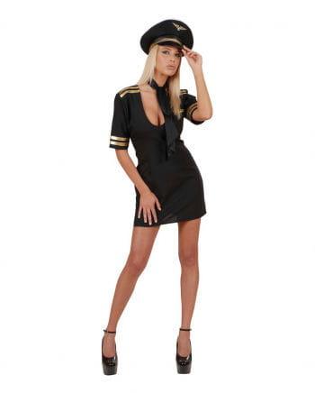Sexy Pilot Costume Gr. M 38/40
