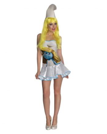 Sexy Schlumpfine Kostüm