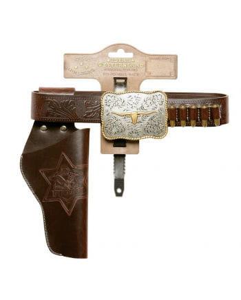 Sheriff belt Bull