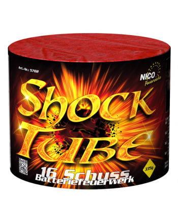 Shock Tube Battery Fireworks 16 Shot