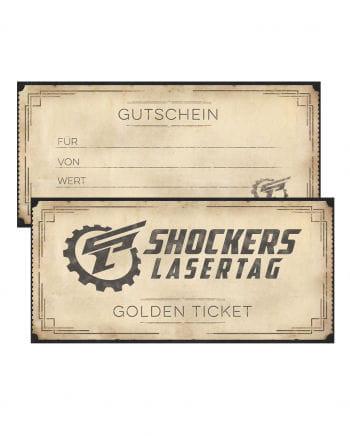 Shockers Lasertag Geschenkgutschein