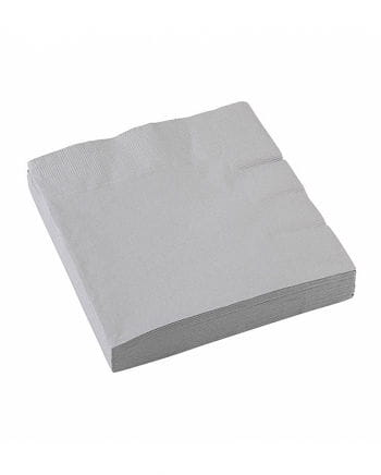 Silver napkins 20 pcs