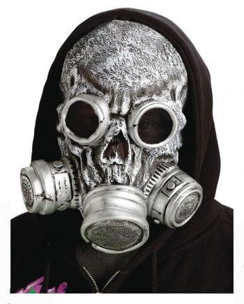 Zombie gasmask silver