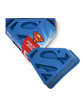 Silikonbackform Superman Logo
