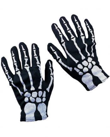 Skelett Handschuhe für Kinder