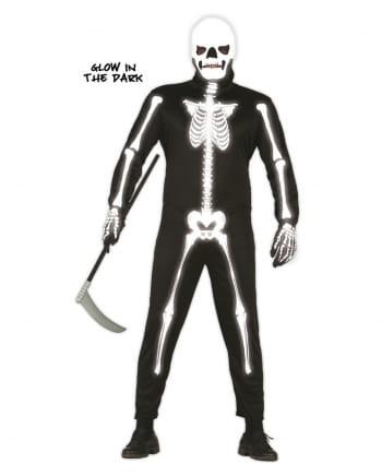 Skelett Jumpsuit Glow in the Dark