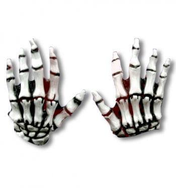 Skelett Handschuhe Junior