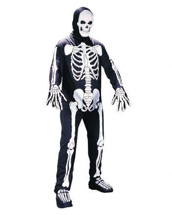 Skelett Kostüm Anzug