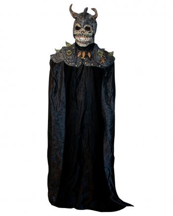 Skull Dämon Maske mit Schulterpanzer