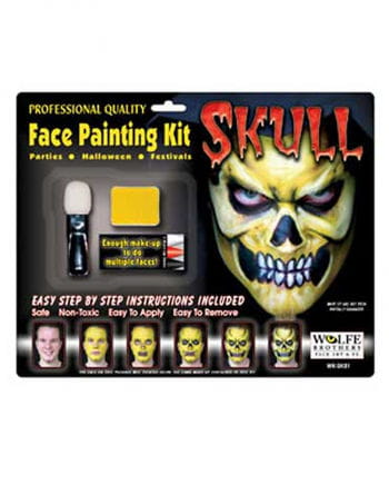 Skull Make Up Complete Set