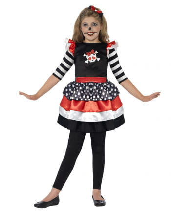 Skully Girl Child Costume
