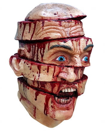Sliced horror Mask