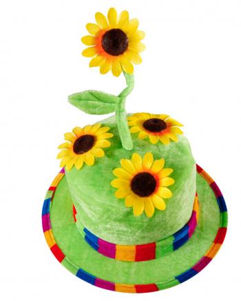 Sonnenblumen Hut