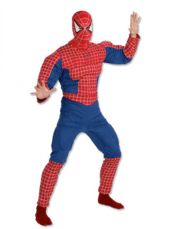 Spiderman Muskel Costume