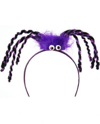 Spider Hairy Purple