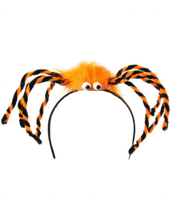 Spinnen Haarreif orange