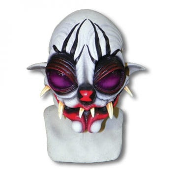 Spinnen Clown Maske
