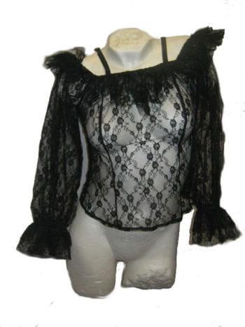 Black Lace Top Medium