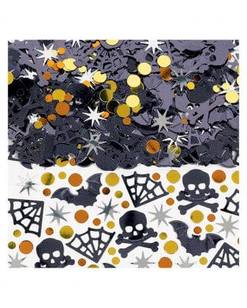 Spooky Halloween Confetti - Metallic