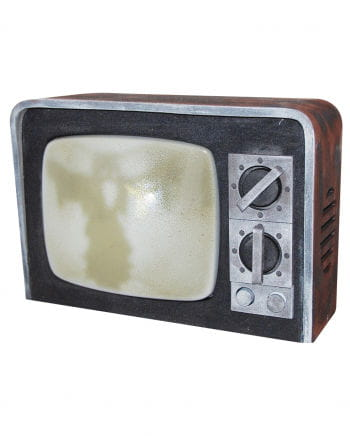 Spooky TV with sound
