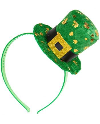 St. Patrick's Day Headband With Mini Hat