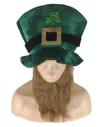 St. Patrick's Day Party hat with beard