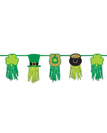 St. Patricks Day Garland With Motif 2,43m