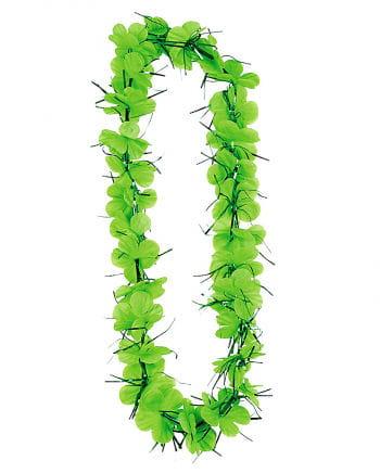 St. Patrick`s Day Blüten Halskette
