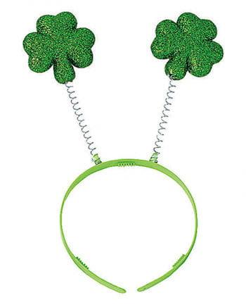 St. Patricks Day Hair Hoop With Cloverleaf