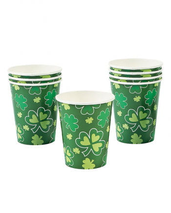 St. Patrick's Day Pappbecher