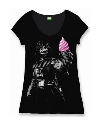 star wars damen t shirt darth vader ice cream krieg der. Black Bedroom Furniture Sets. Home Design Ideas