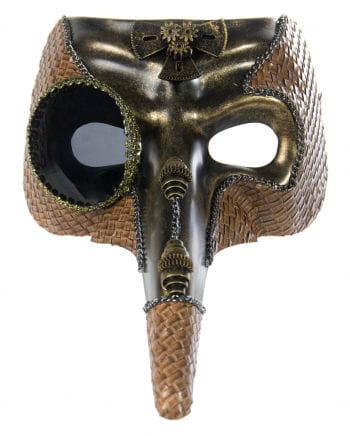 Steampunk Dr. Pest Mask Gold