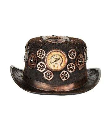 Steampunk Kostüm Hut Bronze