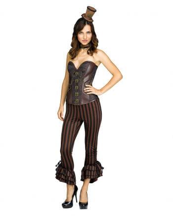 Pirate Costume Trousers Black-brown