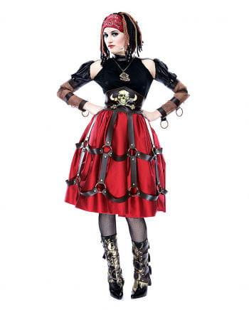 Steampunk pirate maid costume M