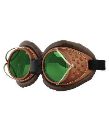 Steampunk Fliegerbrille mit Bügel