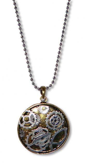 Steampunk Necklace Clockwork