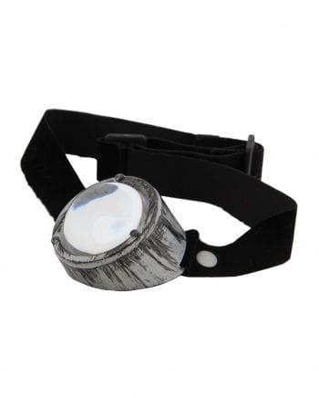 Steampunk Monocle Silver