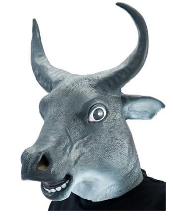 Taurus Mask Made Of Latex