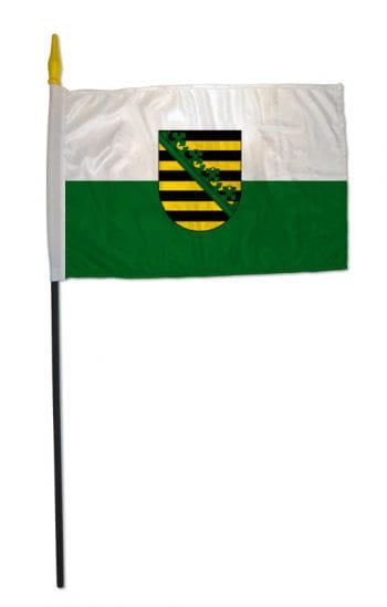 Stockflagge Bundesland Sachsen